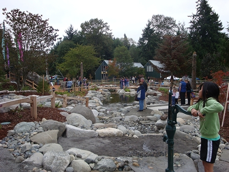 Read more: Children's Nature Exploration Area at Snake Lake Park