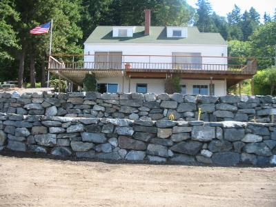 Rock Walls For Landscaping And Hardscapes
