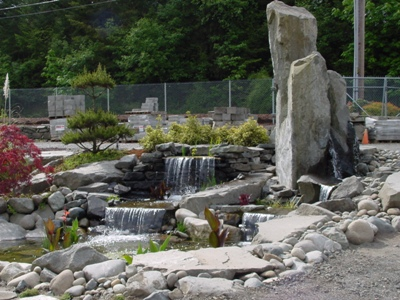 Ponds with Column Rock
